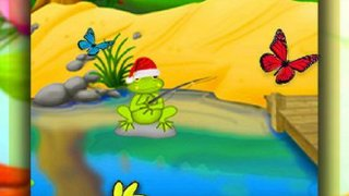 Insects Fishing With Santa - Clause