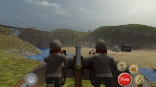 AAA American Civil War Cannon Shooter: Defend the Reds or Blues and Win the War
