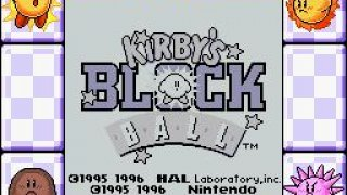 Kirby's Block Ball (1995)