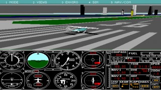 Microsoft Flight Simulator 4.0