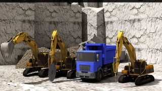 Mega Construction Mountain Drill Crane Operator 3D Game
