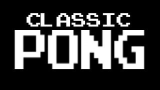Classic Pong - For Android Only (itch)