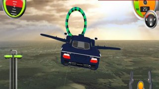 Flying Sport Car: Explore City