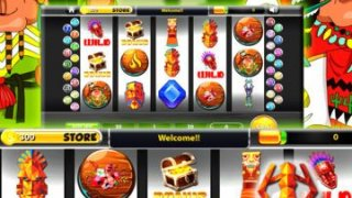 Jungle Gods Slots Machines - Casino Bonanza Treasures VIP 7's Party of Slot Lost Gold