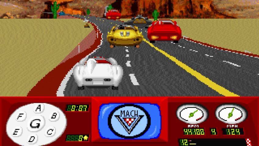 Speed Racer in The Challenge of Racer X