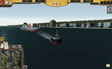 Port Simulator - Hamburg