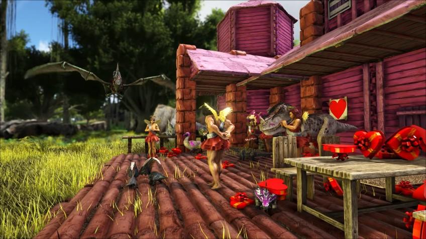 Сегодня в Ark: Survival Evolved начнётся празднование Дня святого Валентина