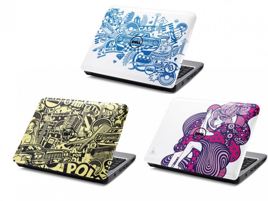 Dell разрисует Inspiron Mini