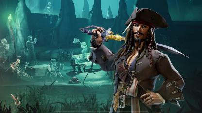 Представлен геймплей кроссовера Sea of Thieves с «Пиратами Карибского моря»