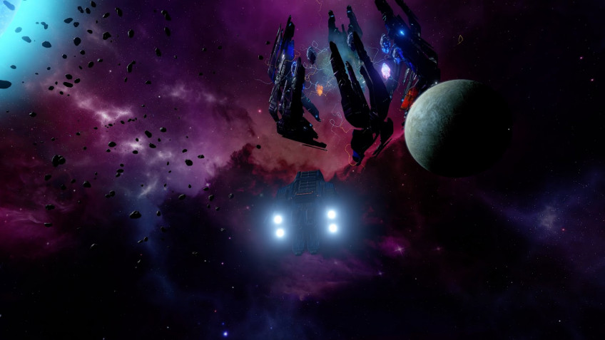 Космическая опера BlazeSky выходит в Steam осенью