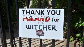 В США у посольства Польши установили табличку с благодарностью за «Ведьмака»