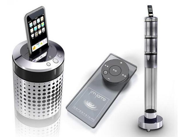 Акустика для iPod от JM Jarre