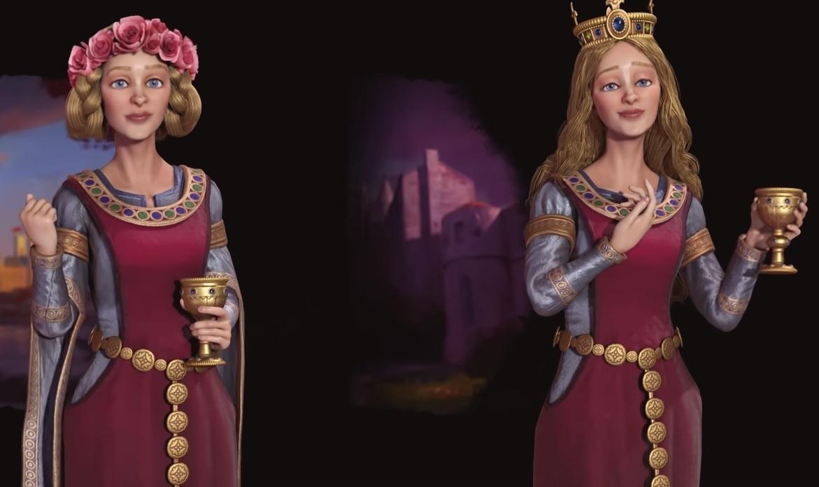 Алиенора возглавит Францию и Англию в новом дополнении для Civilization VI