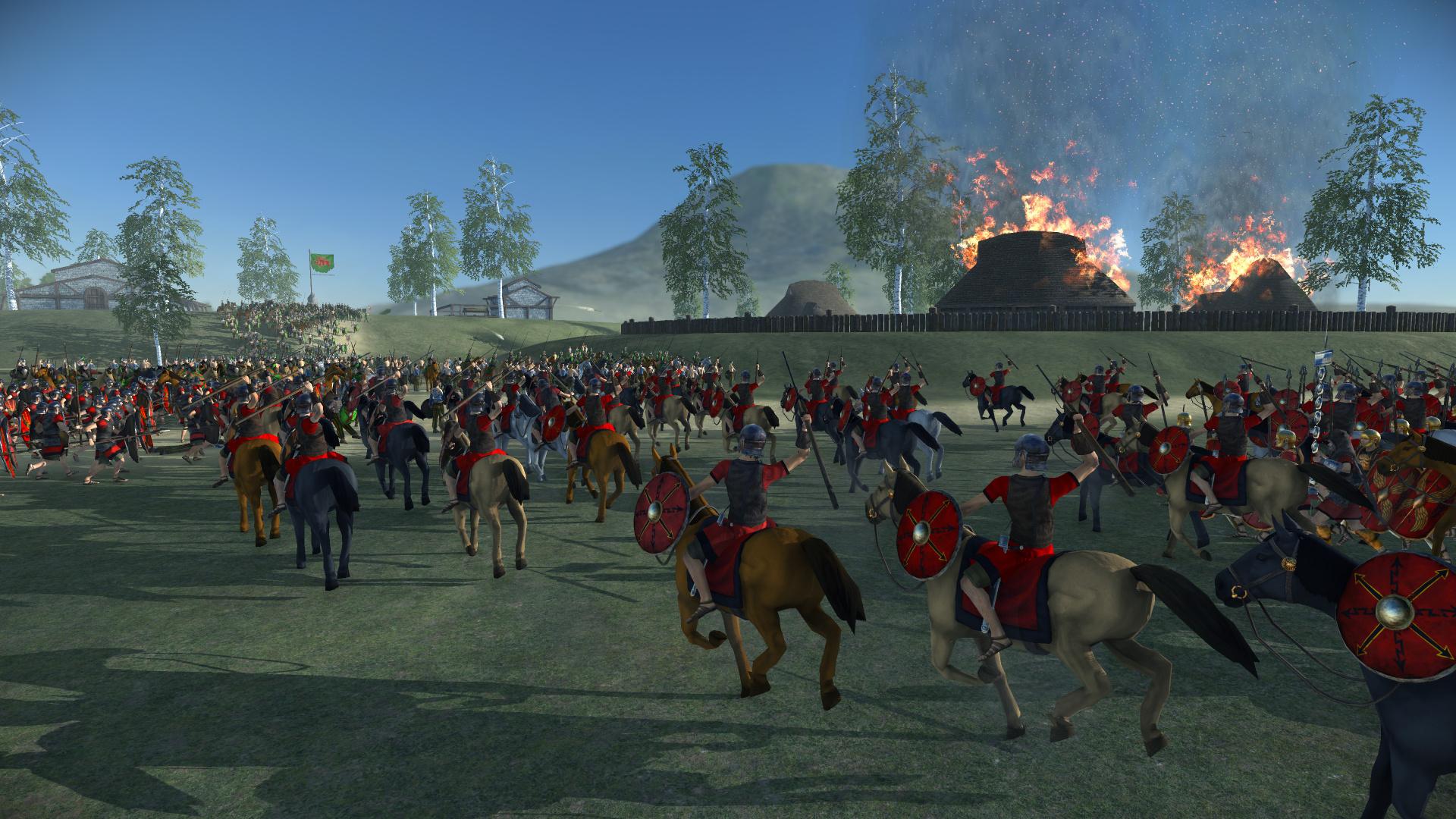 Создатели Total War: Rome Remastered вновь показали улучшения игры