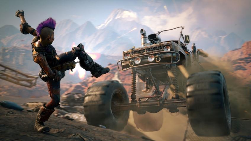 Rage2 создаётся на движке Mad Max и Just Cause — игра «во всём лучше первой части»