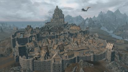 Совсем как в Skyrim: поклонник воссоздал копию Вайтрана в Valheim