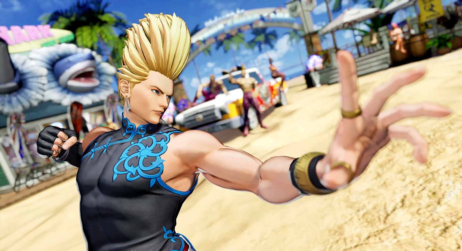 Свежий трейлер и скриншоты The King of Fighters XV посвятили Бенимару Никайдо