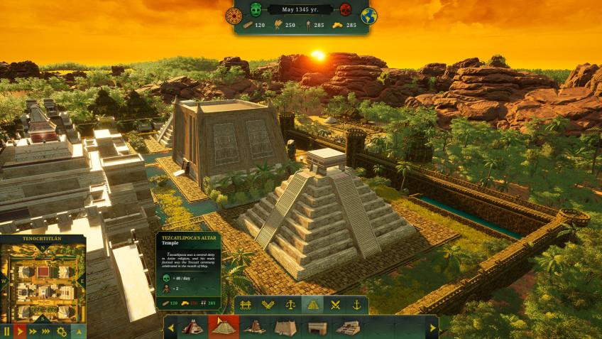 Сегодня все мы ацтеки: PlayWay анонсировала Aztec Empire