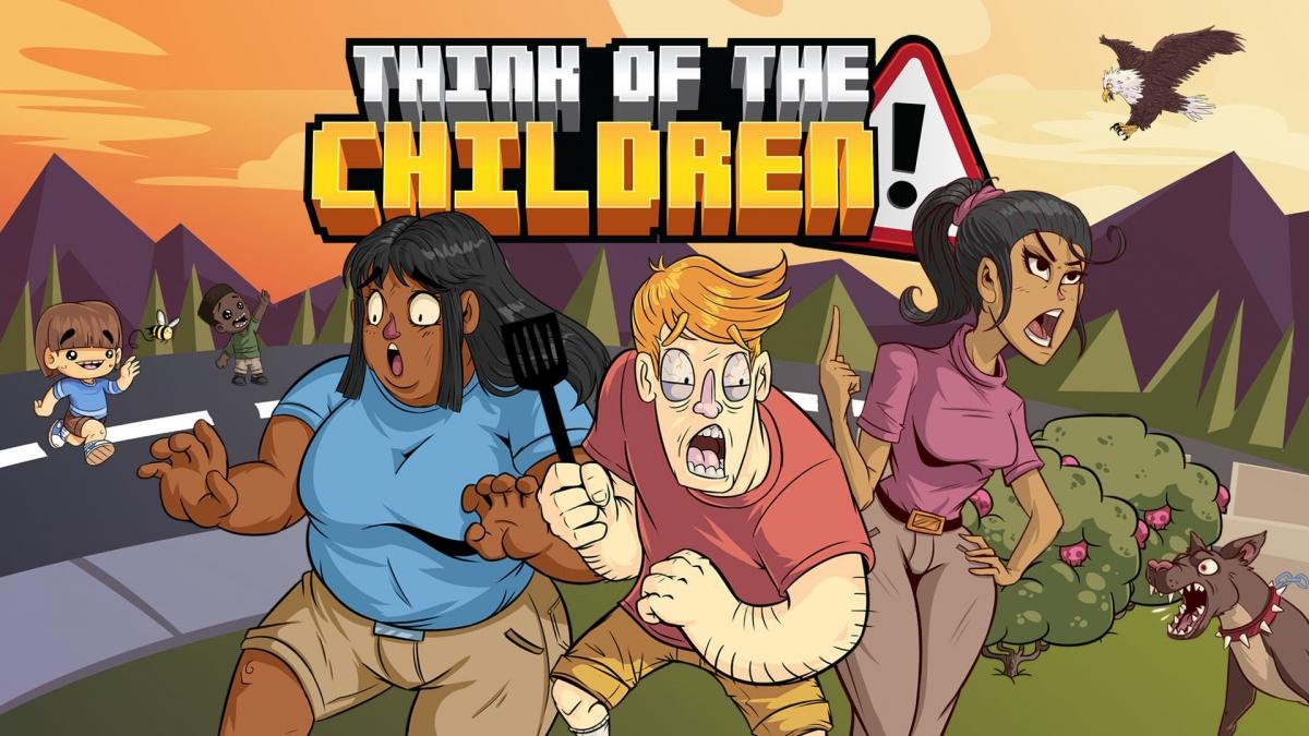 Симулятор Think of the Children позволит избавиться от детей десятком способов