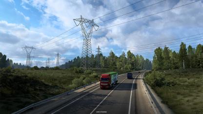 Для Euro Truck Simulator2 анонсировали дополнение «Сердце России»