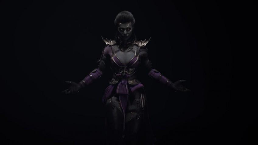 Эд Бун показал иллюстрацию Синдел в Mortal Kombat11