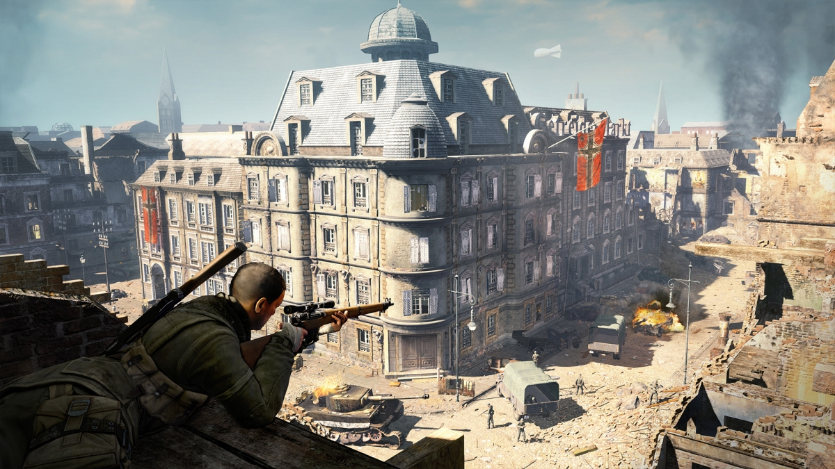 Берлин 1945 года в релизном трейлере Sniper Elite V2 Remastered