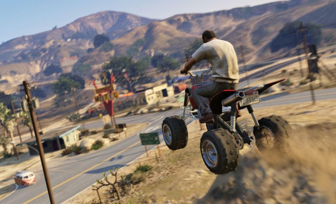 Rockstar представила геймплейное видео GTA V
