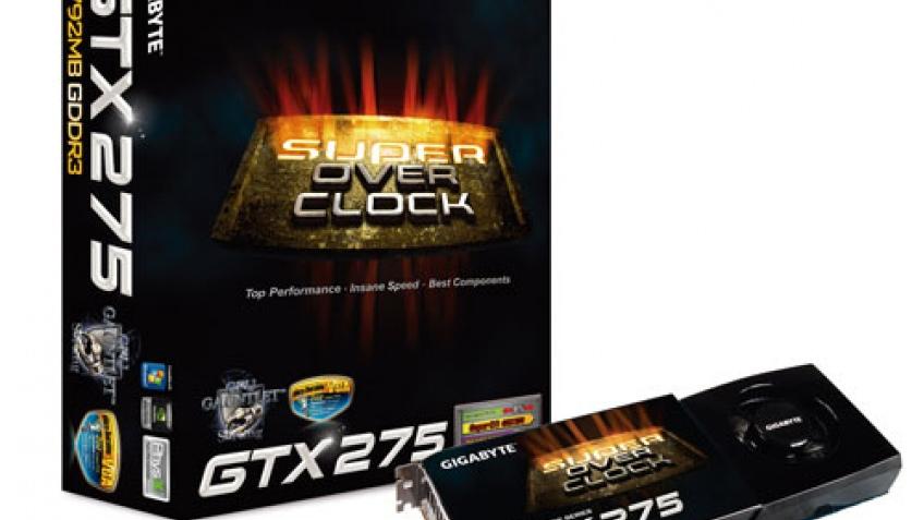 Разогнанная GeForce GTX 275 компании Gigabyte