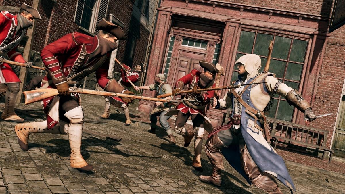 Ubisoft показала более6 минут игрового процесса сборника ремастера Assassin's Creed III