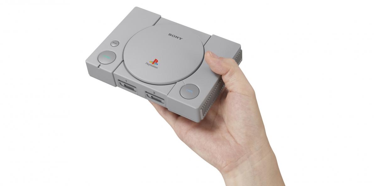 Sony перевыпустит первую PlayStation