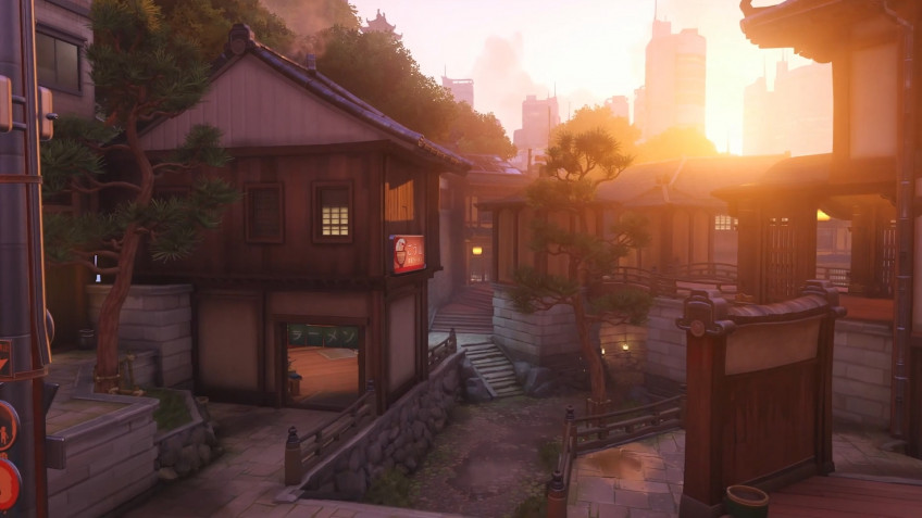 В январе Overwatch получит новую японскую карту — Канезака