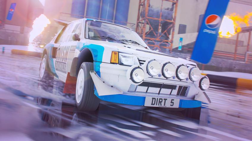Разработчики DIRT5 показали новый тип гонок для любителей дрифта на льду
