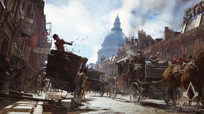 Ассасины гоняются на каретах в трейлере Assassin's Creed: Syndicate (обновлено)