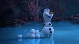 Disney начала выпускать короткометражки про Олафа из «Холодного сердца»