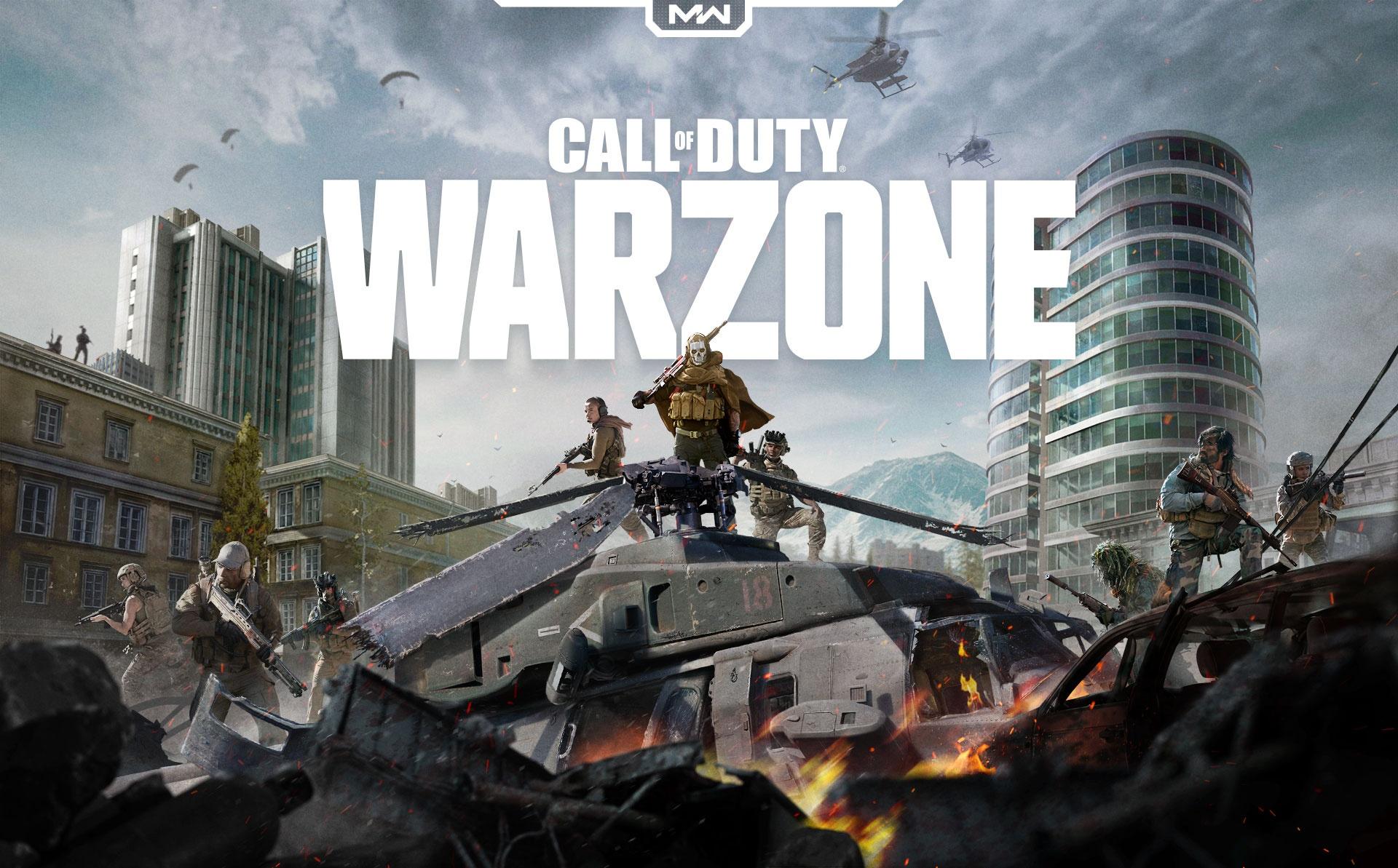 Сегодня выходит Call Of Duty: Warzone - бесплатная королевская битва