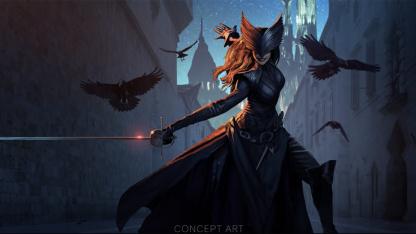 Новый концепт Dragon Age4 изображает Ворона