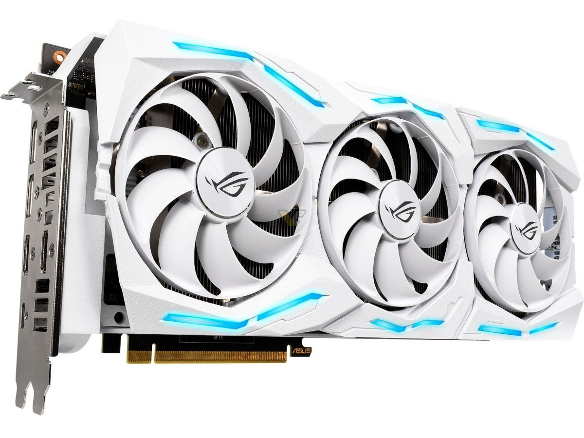 ASUS представила видеокарту ROG Strix RTX 2080 Ti White Edition