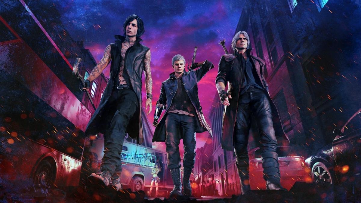 Вслед за ремейком Resident Evil 2: Devil May Cry5 блестяще стартовала в Steam