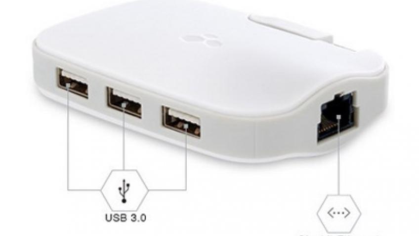 Kanex DualRole: USB-хаб с Gigabit Ethernet