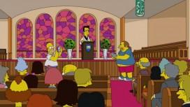 Гомер ловит покемонов в церкви в новой серии «Симпсонов»