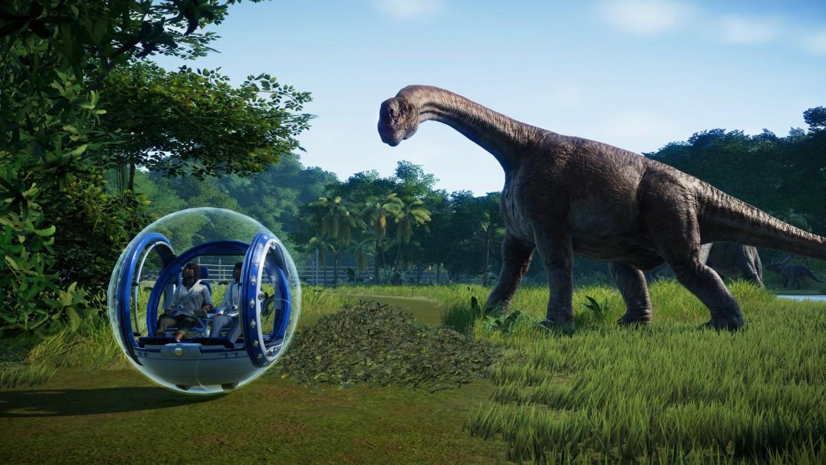 Джефф Голдблюм «озвучил» трейлер Jurassic World Evolution