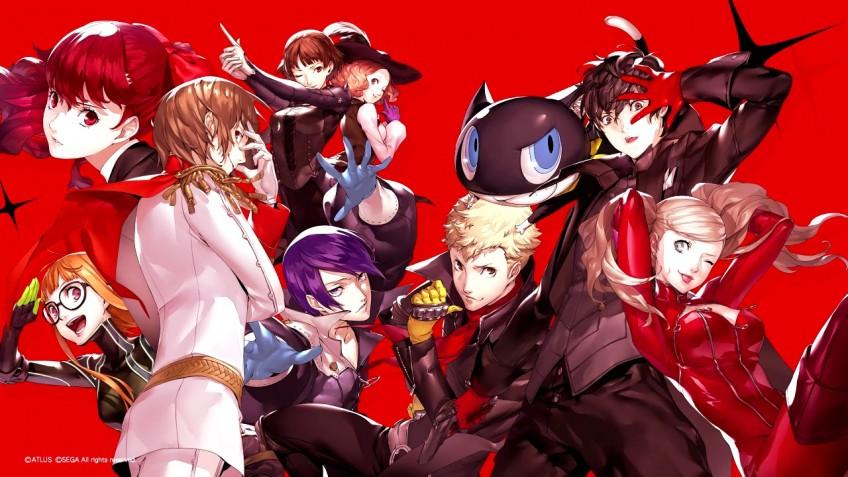 В новом трейлере Persona5 Royal представили всех Призрачных воров