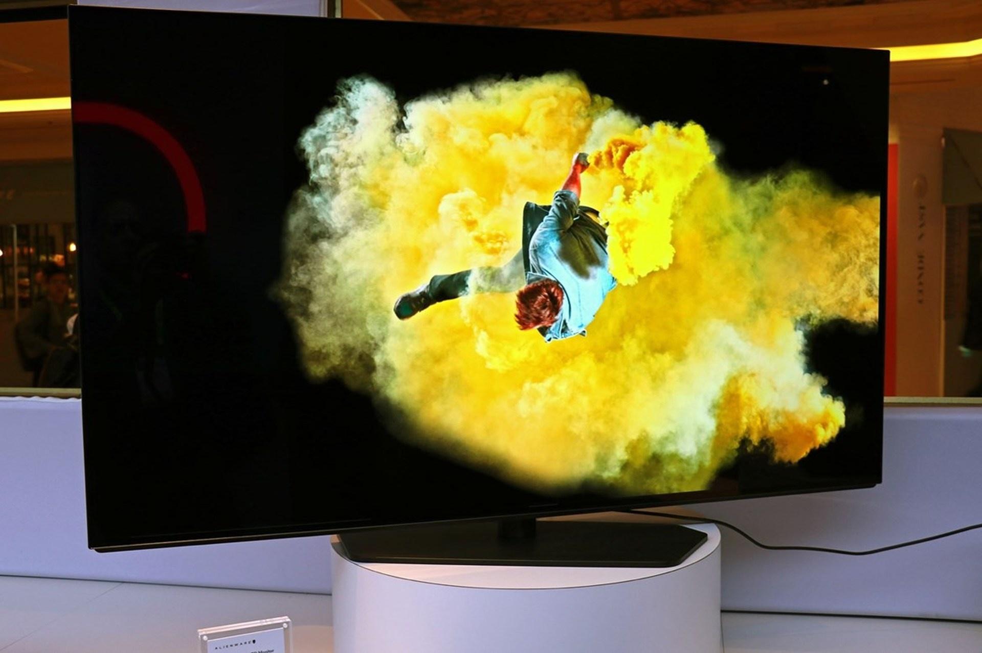 55-дюймовый игровой монитор Alienware могут никогда не выпустить
