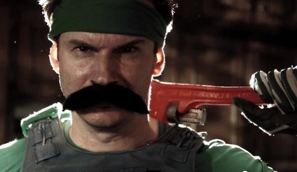 Персонажи вселенной Марио появились в любительском боевике