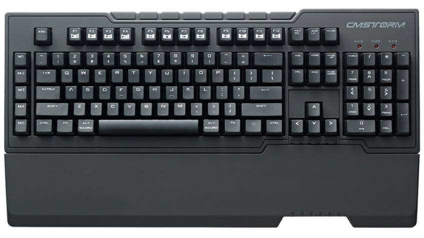 Cooler Master представила клавиатуру CM Storm Trigger-Z