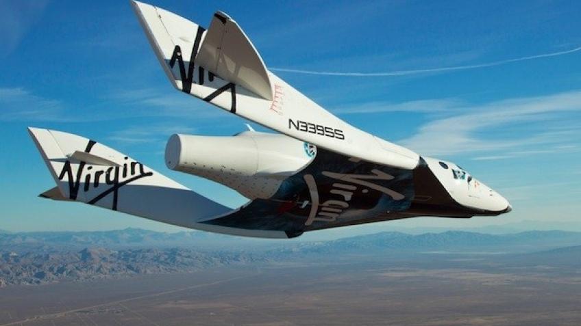Космоплан Virgin Galactic совершил первый одиночный полет