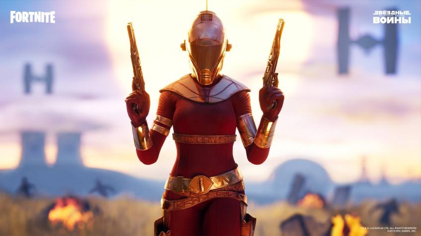 В Fortnite добавили экипировку Кайло Рена и Зори Блисс из «Звёздных войн»