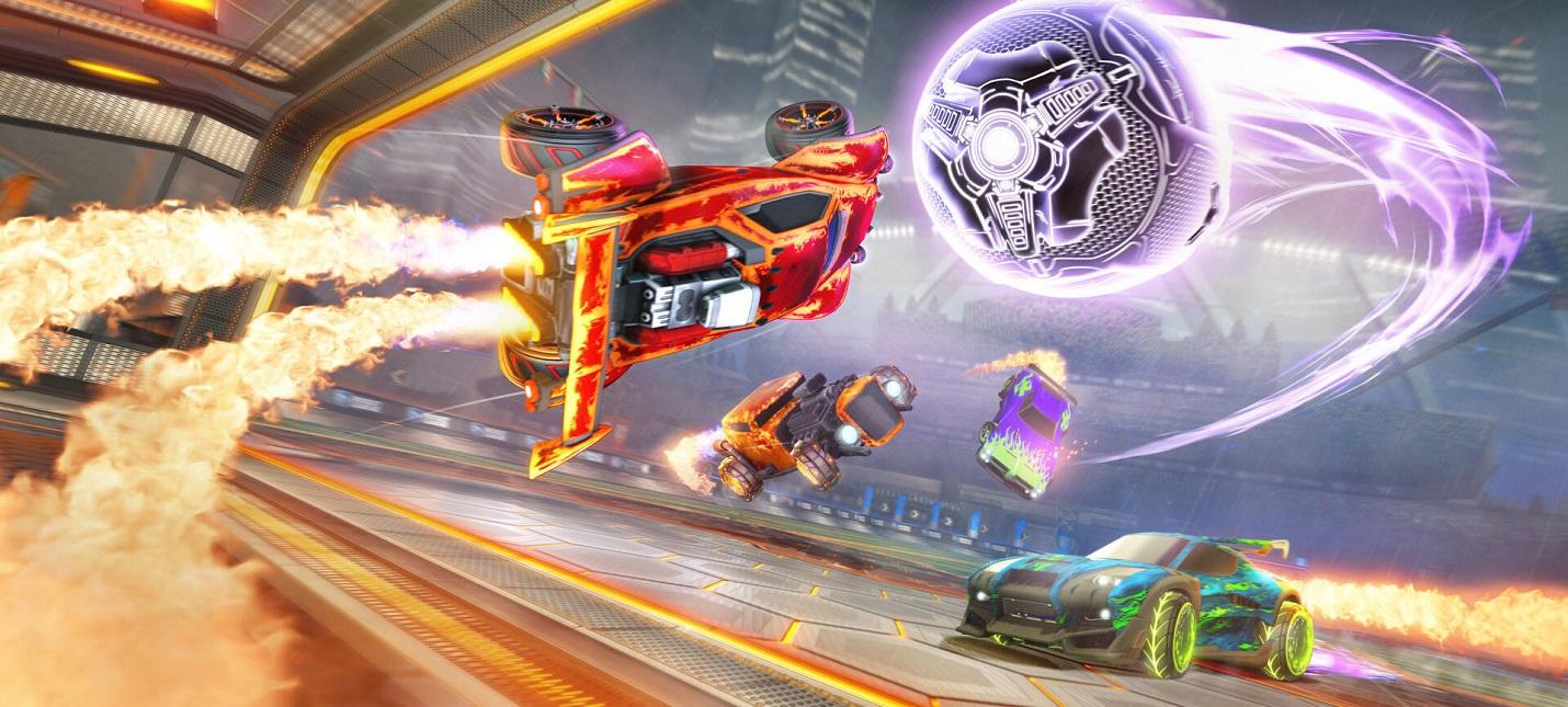 Когда Rocket League станет бесплатной, на PS4 и Switch не будут нужны PS Plus и NSO