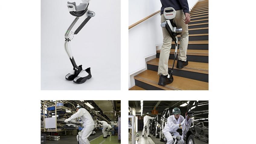 Робо-нога от Honda
