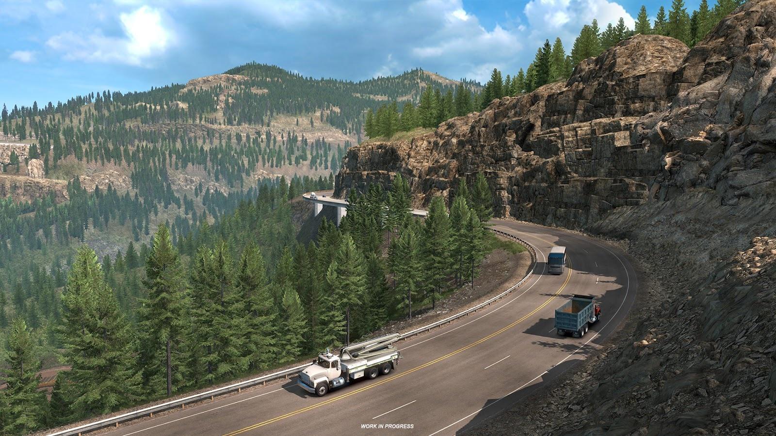 Для American Truck Simulator анонсировали дополнение Colorado